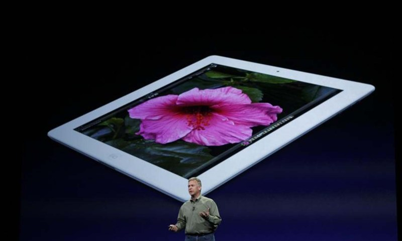 Apple Marketing chief Phil Schiller speaks during an Apple event in San Francisco