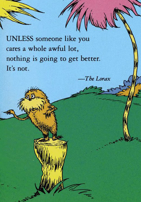 Do Movies Like Dr. Seuss' 'The Lorax' and 'Wall-E' Make a Difference?