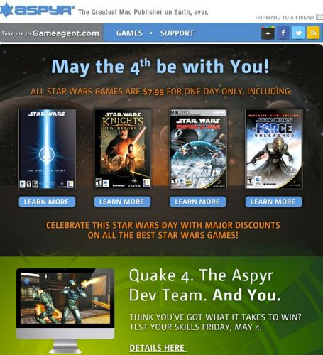 Aspyr Star Wars Sale