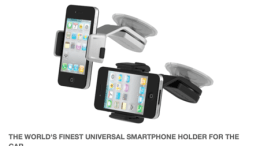 Ultima, the Best In Car Holder Dock Mount for iPhone, Kickstart This