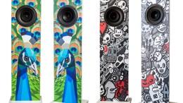 Functional Home Decor: Urban Fidelity Art Speakers