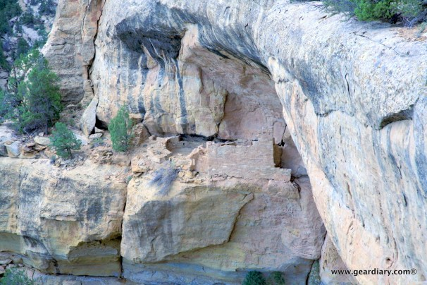There are cliff dwellings tucked in so many places!