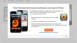 Audiobooks.com Gets Download Friendly