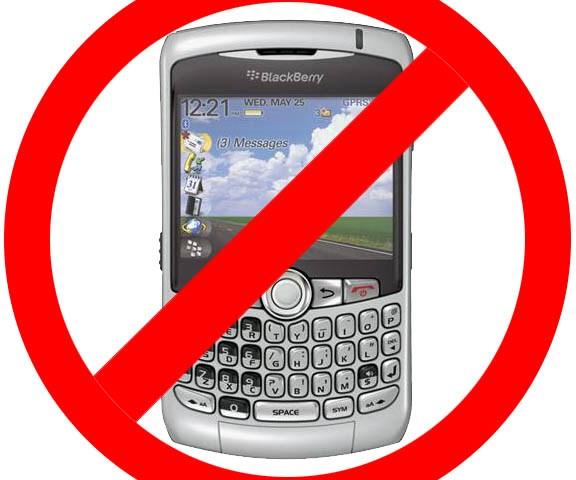 no blackberry