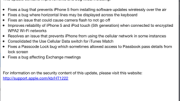 Apple Releases iOS 6.0.1, Available Now as an OTA Update