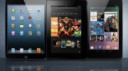 "Battle of the 7"" Tablets - iPad Mini vs Kindle Fire HD vs Nexus 7"