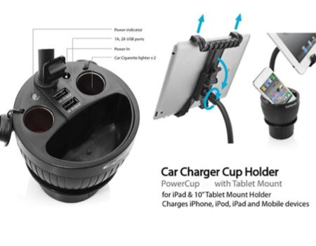 PowerCup Car Charger Handles Your Devices on the Road