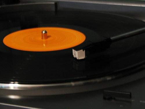 record-spinning