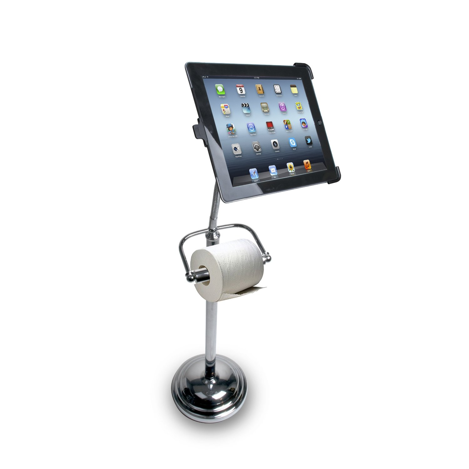 Cta Digital Pedestal Stand For Ipad Keeps You Connected In