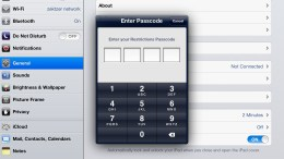 Activating and Using Parental Controls in iOS