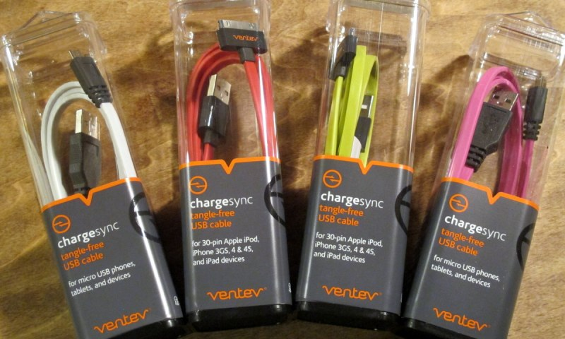 Ventev Charging Cables and Chargers