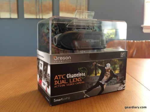 The ATC Chameleon in its retail packaging