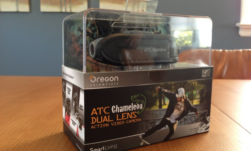 The ATC Chameleon in it's retail packaging