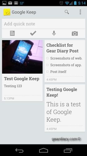 GoogleKeepPhone
