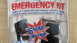 DRY-ALL Wet Smartphone Emergency Kit to the Rescue