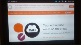 Early Thoughts on Ubuntu Touch