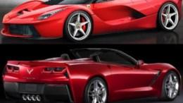 GearDiary 2014 Corvette Stingray Convertible and LaFerrari Dream Cars Unveiled at Geneva Motor Show