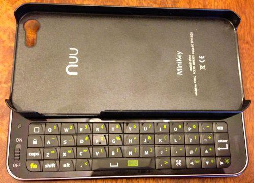 Nuu MiniKey for iPhone 52