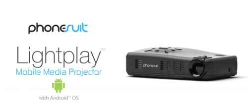 PhoneSuit Lightplay Media Projector with Android Review