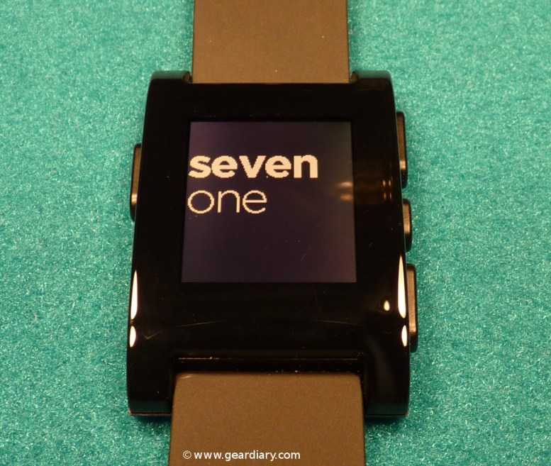 Pebble E-Paper Watch for iPhone and Android Review