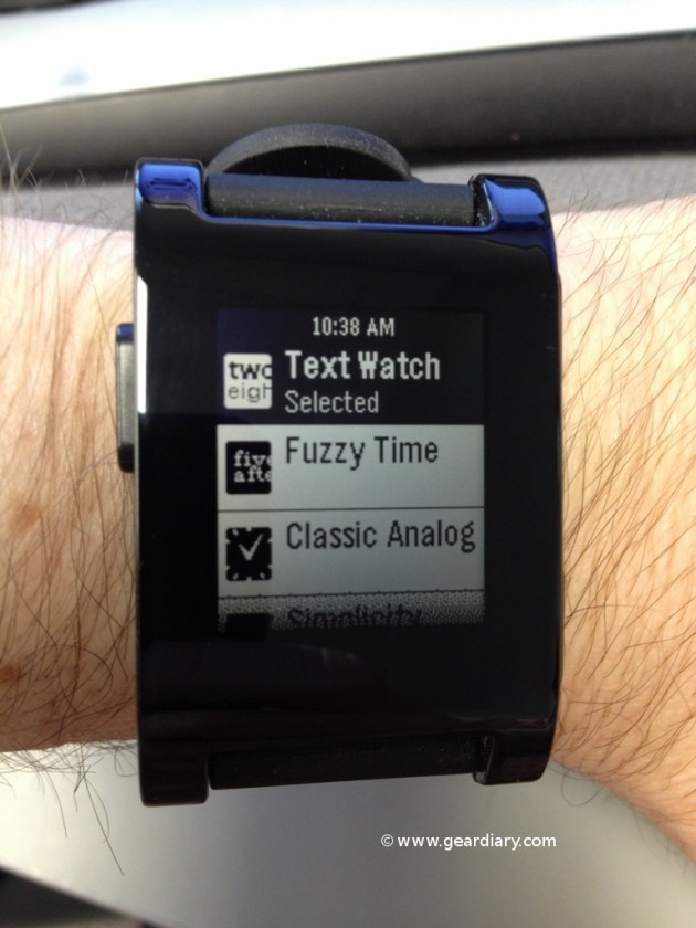 Pebble E-Paper Watch for iPhone and Android