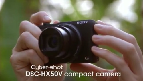 Sony's Cyber-shot HX50V: A 30x Optical Zoom in a Small and Light Camera