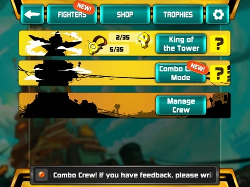 Combo Crew for iOS and Android Pulls No Punches!  Combo Crew for iOS and Android Pulls No Punches!