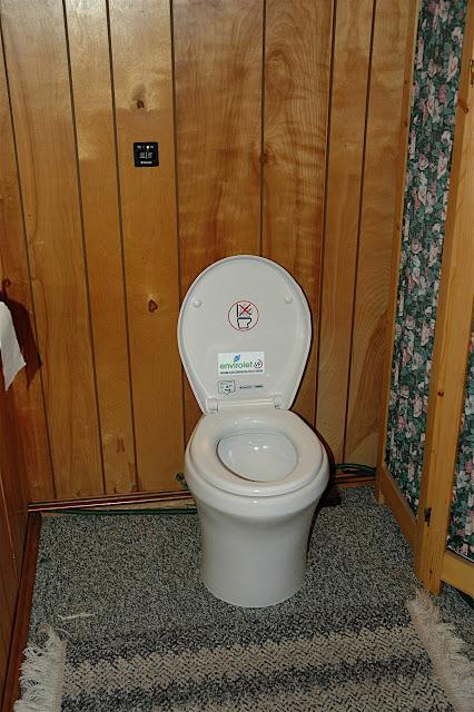 Envirolet VF Cottage Installation
