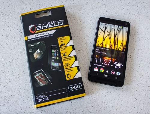 ZAGG invisibleSHIELD for HTC One Review