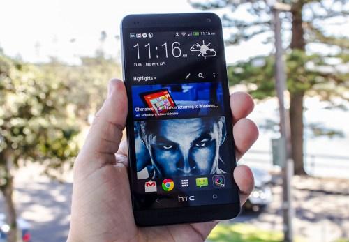 HTC One Black running Sense 5
