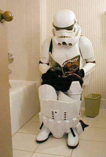 Star Wars Poop Trooper