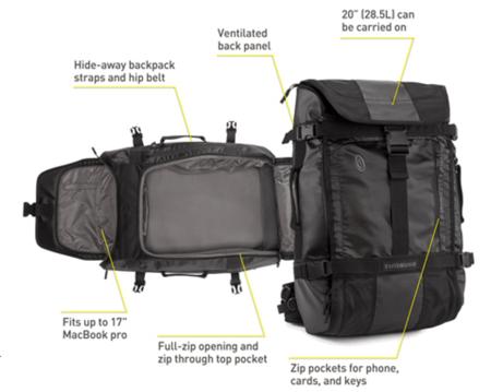 Timbuk2 Aviator Travel Backpack  Timbuk2 Aviator Travel Backpack  Timbuk2 Aviator Travel Backpack