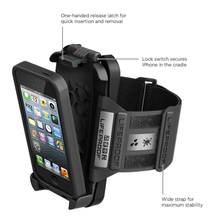 LifeProof fr? and Arm Band for iPhone 5 Review