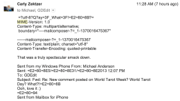 How To Fix the Ugly MIME Headers When Using Gmail on a Windows Phone