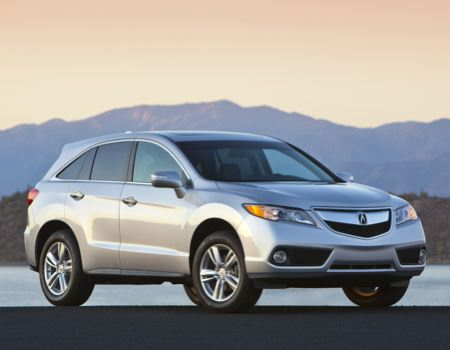 2013 Acura RDX Graduates with Honors