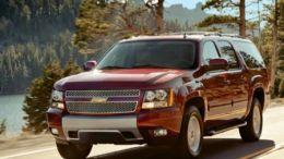 2013 Chevrolet Suburban is the Prairie Schooner of the Modern World