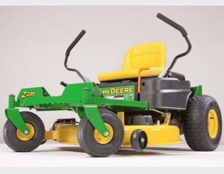 New John Deere EZtrak Z235 Zero Turn Mower Takes the 'Work' out of Yardwork
