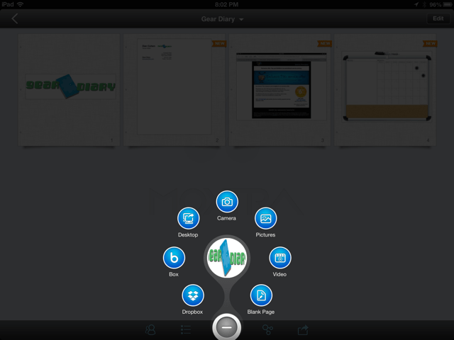 Moxtra for iOS Review - Moving Mountains of Info into Manageable Folders
