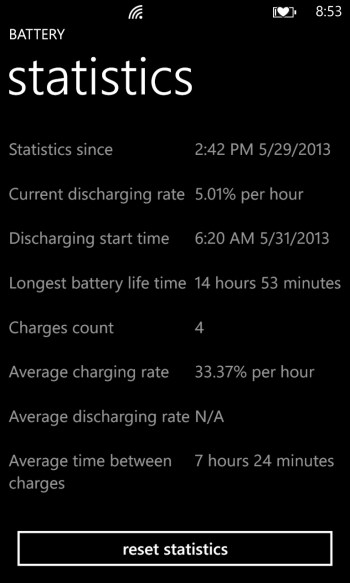 Battery for Windows Phone