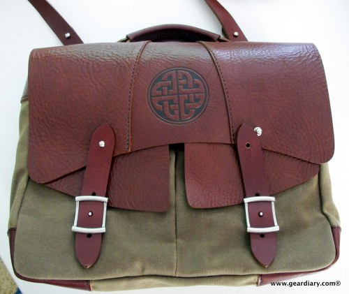 """Oberon Design Laptop Messenger Bag 13"""" Review - One Leather and Canvas Bag to Rule Them All  Oberon Design Laptop Messenger Bag 13"""" Review - One Leather and Canvas Bag to Rule Them All"""