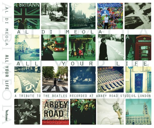 Al Di Meola Remembers The Beatles with 'All Your Life'