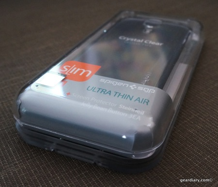 Spigen SGP Ultra Thin Air Transparency Case for Samsung GALAXY S4 Review