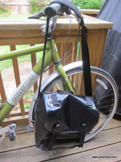 Georgetown Dry Pannier from Detours Bike Bags Review - Keeps the Elements at Bay