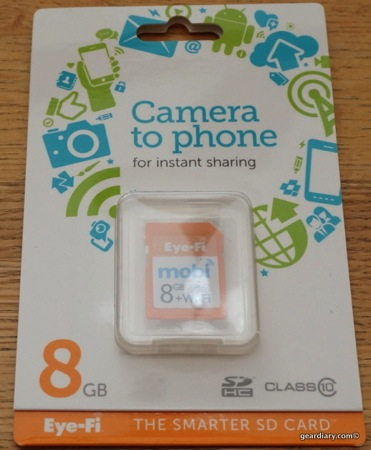 Eye-Fi Mobi Wireless Memory Card