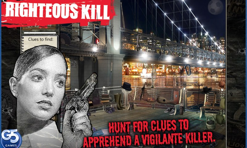 Righteous Kill Movie Game for the Mac