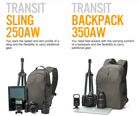 Lowepro Transit Series Offer City Style for Your Camera Gear  Lowepro Transit Series Offer City Style for Your Camera Gear