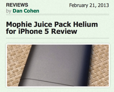 Get the Most from Your iPhone With the Mophie Juice Pack Plus