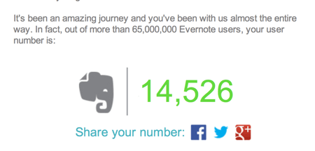 Evernote Turns Five- When Did You Subscribe?  Evernote Turns Five- When Did You Subscribe?  Evernote Turns Five- When Did You Subscribe?
