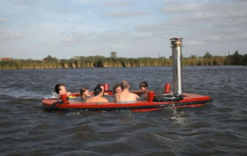 Why Settle for a Stationary Hot Tub When You Can Set Sail with the HotTug?