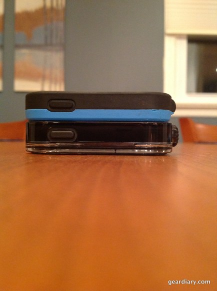 Width Comparison with the Lifeproof Fre.